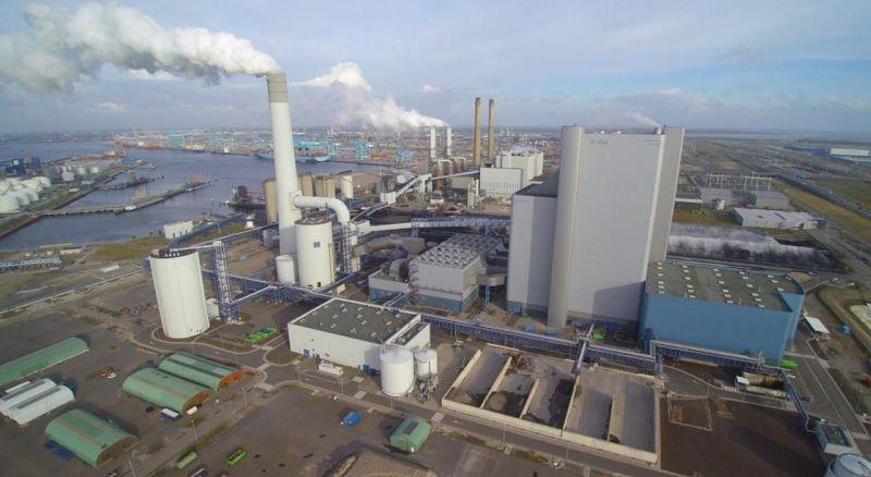 Elektrárna Uniper MPP3 v Rotterdamu