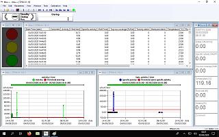 Screenshot of software - complete data analysis online