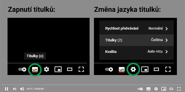 Jak si zapnout titulky na YouTube a přepnout jejich jazykovou verzi