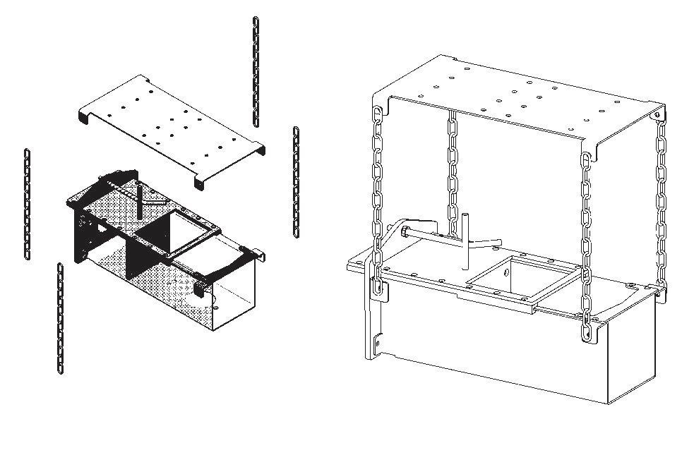 Instalace komprimační jednotky